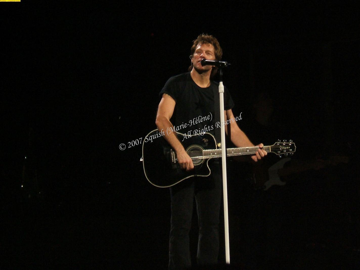 Bon Jovi - Centre Bell, Québec, Canada (14 novembre 2007)